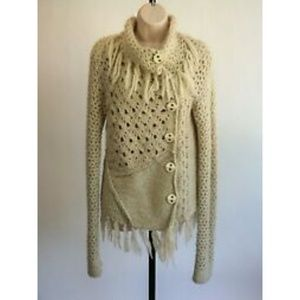 FREE PEOPLE WOOL BLEND SWEATER SIZE SMALL (Y)